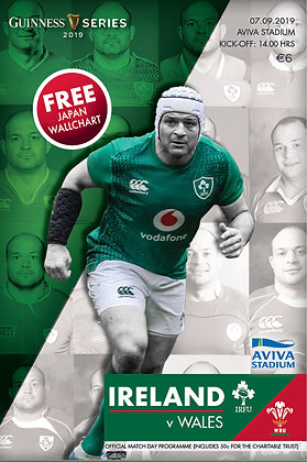 Ireland v Wales Guinness Series 2019