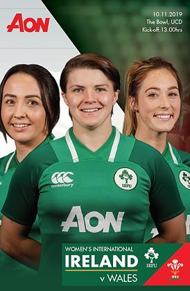 Ireland v Wales Women's International