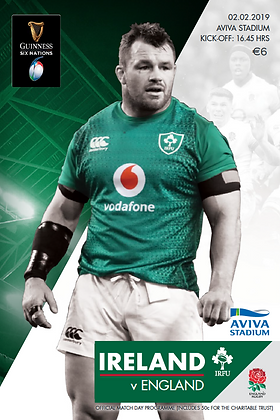 Ireland v England Guinness 6 Nations 2019