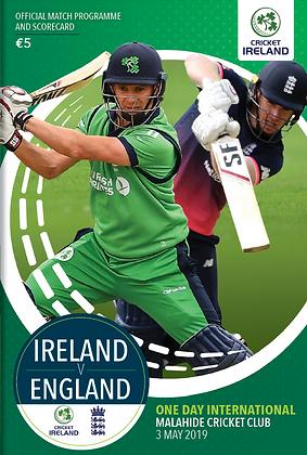 Ireland v England ODI