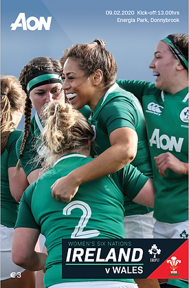 Ireland v Wales Womens 6 Nations