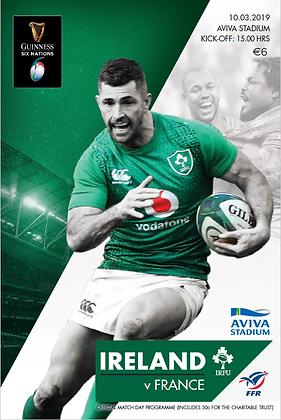 Ireland v France Guinness 6 Nations 2019