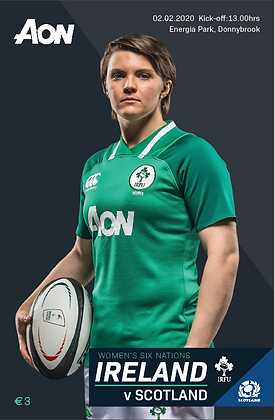Ireland v Scotland Womens 6 Nations