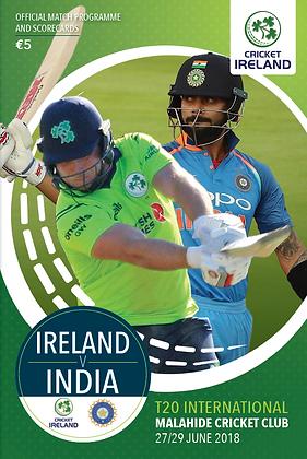 Ireland v India T20 International