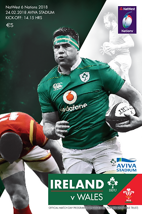 Ireland v Wales NatWest 6 Nations 2018