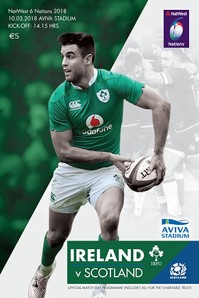 Ireland v Scotland NatWest 6 Nations 2018