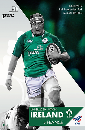 Ireland v France U20s 6 Nations 2019