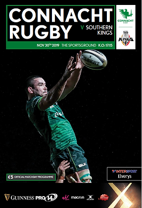 Connacht v Southern Kings 30.11.19