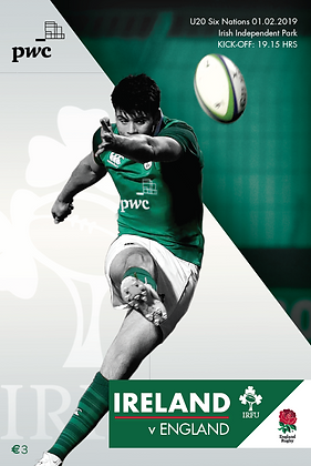 Ireland v England U20s 6 Nations 2019