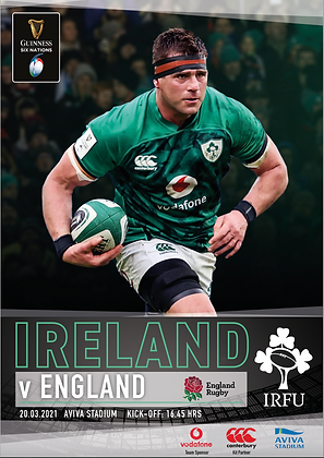 Ireland v England Guinness 6 Nations 2021