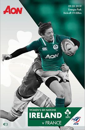 Ireland v France Womens 6 Nations 2019