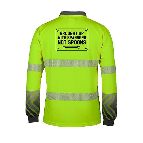 High Vis Work Shirt Long