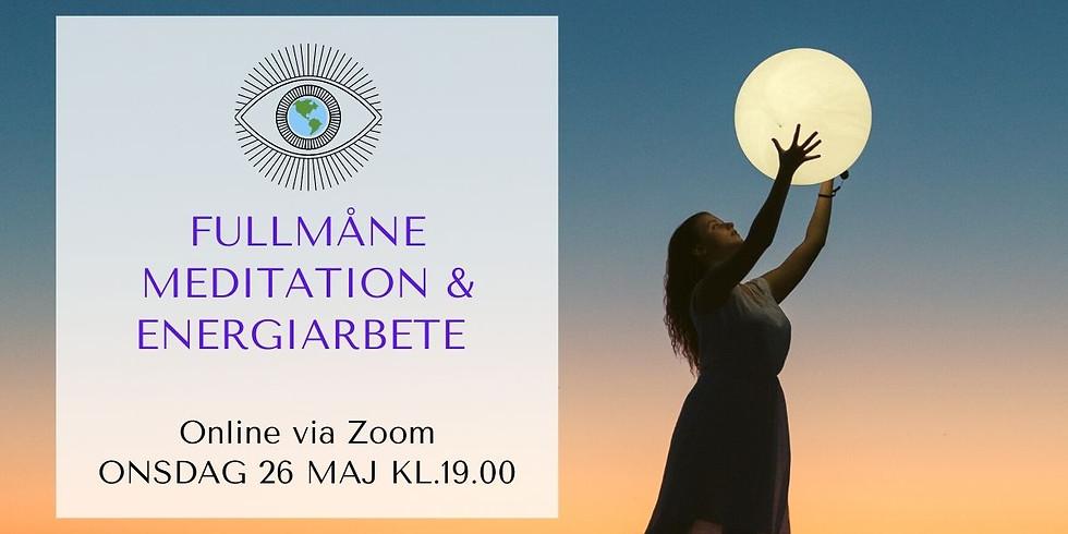 Supermåne meditation & Energiarbete / 26 maj 2021