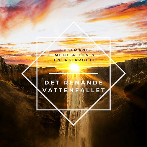 Det renande vattenfallet - Fullmåne meditation & energiarbete Mp3
