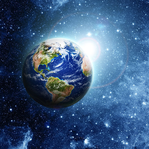 planet earth Elements of this image furnished by NASA .jpg