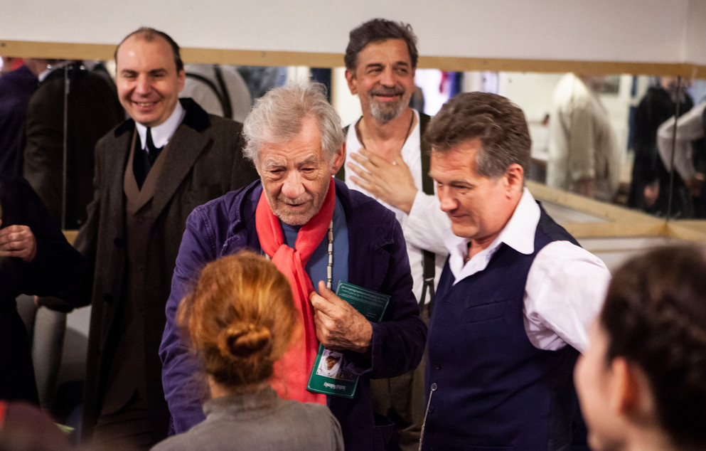 Ian McKellen Visit