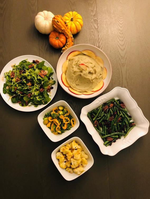 Plant-Based Sides for Thanksgiving
