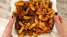 Eggplant Pasta or Pasta alla Norma #meatlessmonday