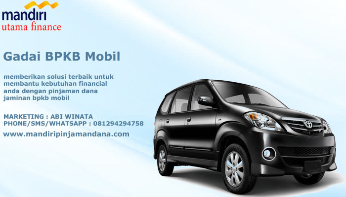 Gadaikan BPKB Mobil Cepat Indonesia