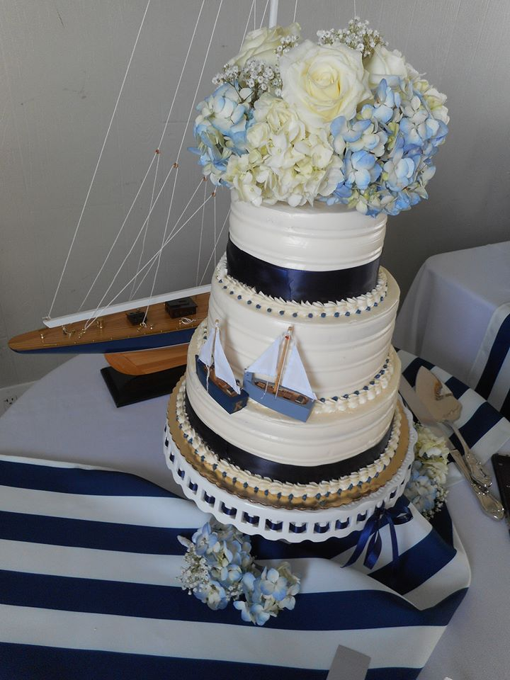 Wedding cake ships Galilee Beach Club