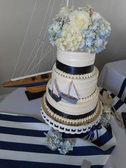 Wedding cake ships Galilee Beach Club