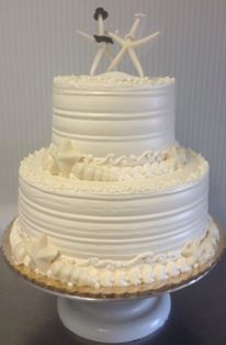 Wedding Cake - Starfish 2