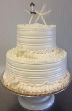 Wedding Cake - Starfish 2