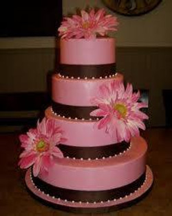 Wedding - Pink and brown