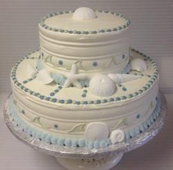 Wedding Cake - Beach