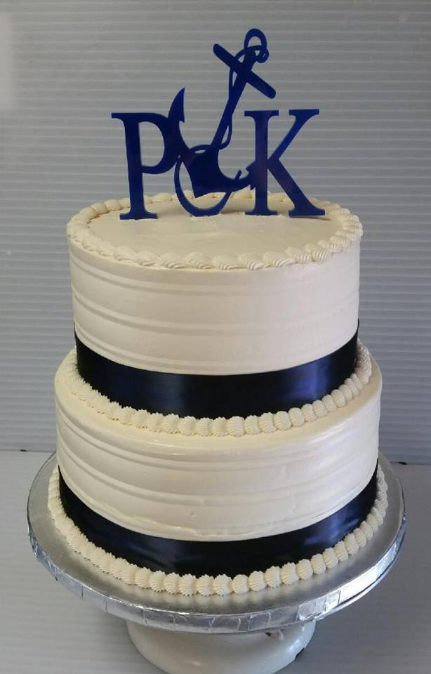 Wedding Cake - Sailing