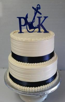 Wedding Cake - Sailing