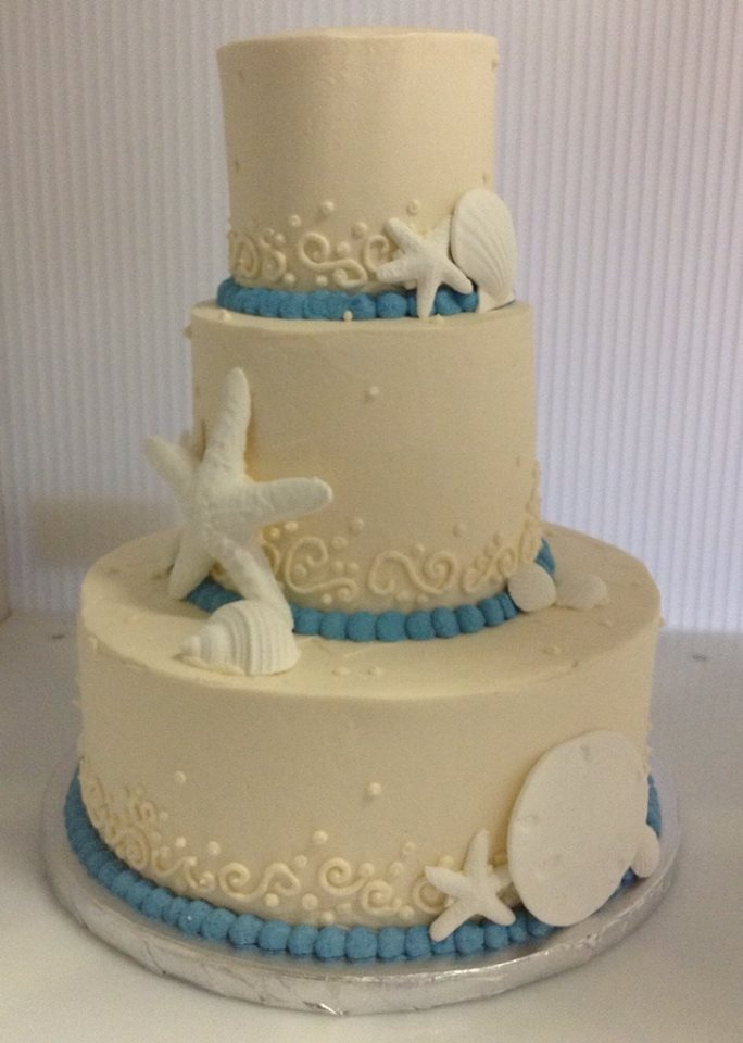 Wedding Cake - Starfish 3