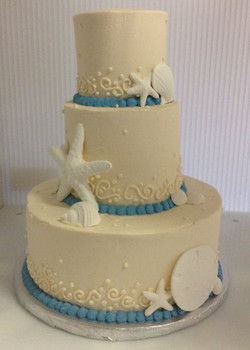 Wedding Cake - Starfish 3