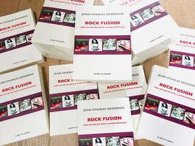 Ne ratez pas la sortie de ROCK FUSION : une anthologie de 100 disques !!