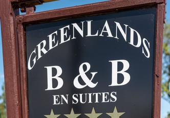 Greenlands Sign