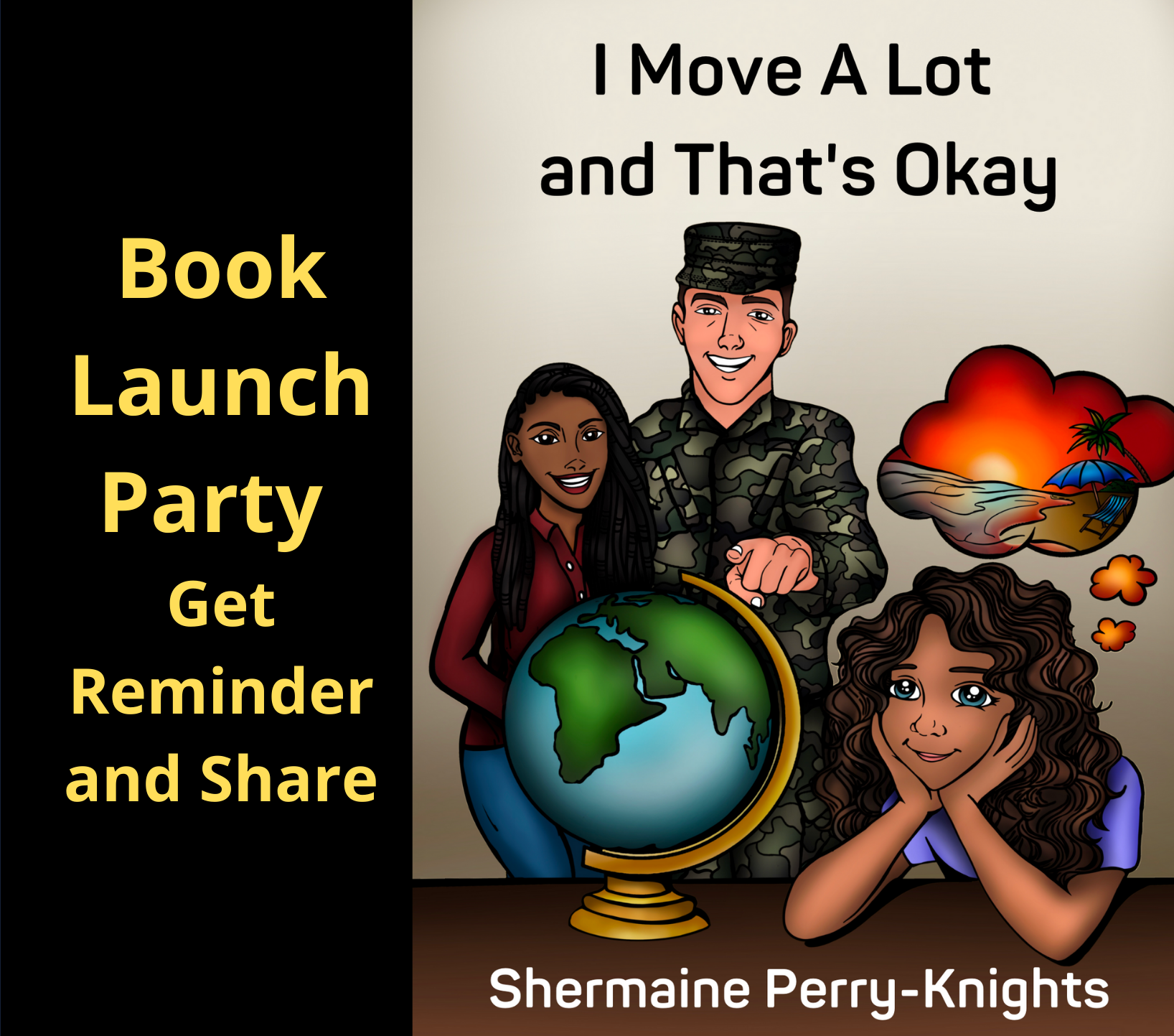 Book Launch Party -promo partner page