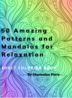 50 Amazing Patterns and Mandalas for Relaxation: Adult Coloring Book
