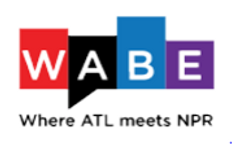 logo for WiABE. This is where NPR meets Atlanta.