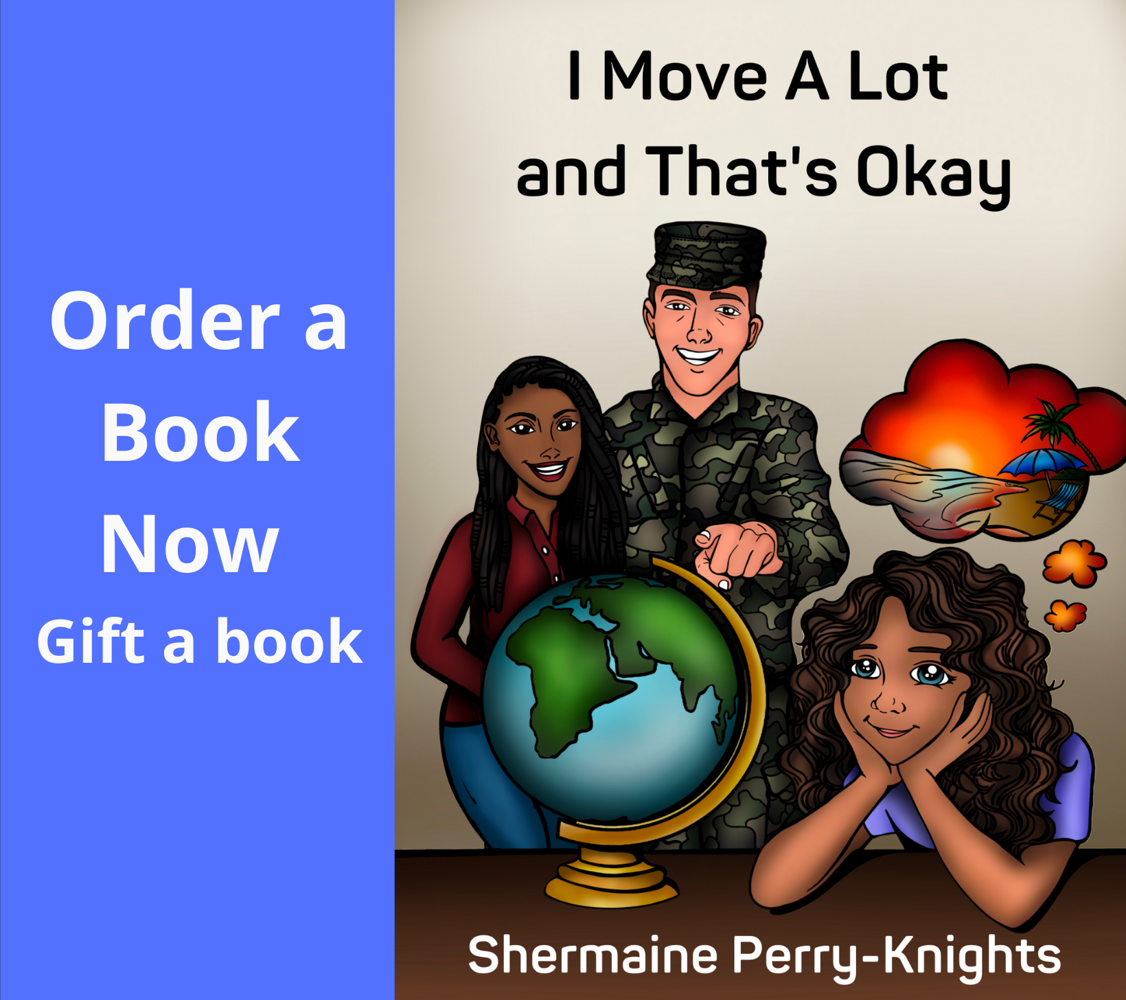 Order a Book Now -promo partner page