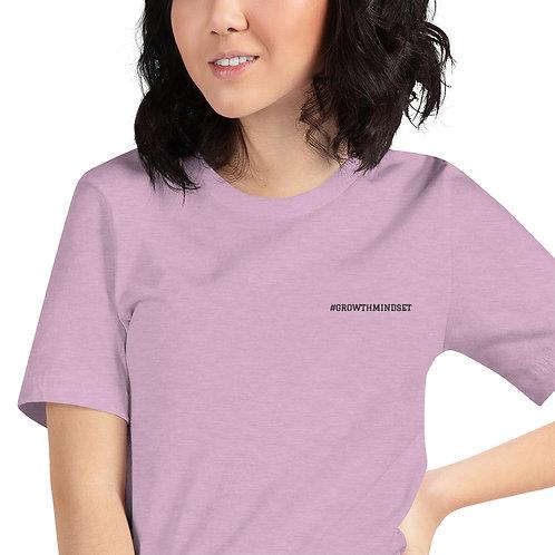 Short-Sleeve Unisex T-Shirt- #GrowthMindset