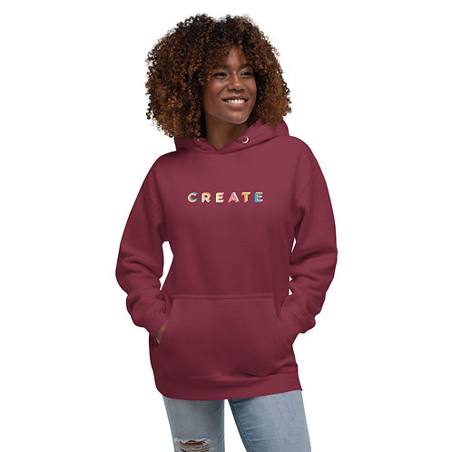 Unisex Hoodie- Create