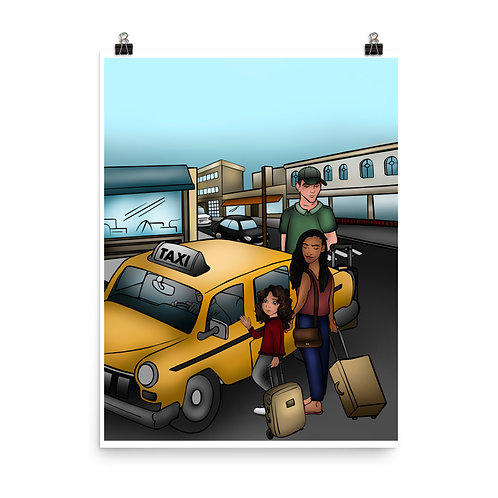 Poster (Taxi to the Airport)