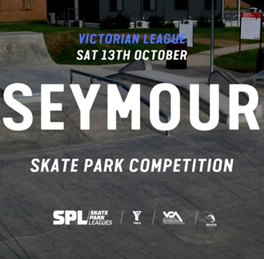 Get down to the Seymour Skate Park and compete in skate, scooter, or BMX. The Skate Park League competitions are community based grass-roots events focused on embracing skate park culture and bringing the community together. *All competitors will go in the draw to win one of our raffled off prizes. This encourages participation and ensures everyone has an even chance to win a prize!