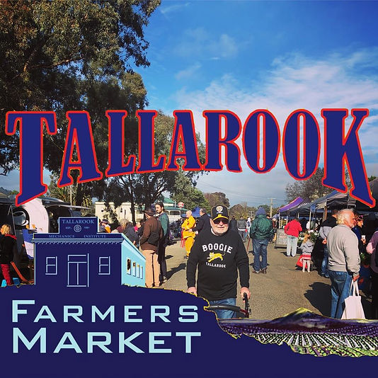 The Tallarook Farmers' Market is located in the prettylittle town of Tallarook and held on the first Sunday of every month (except January). OurVFMA accredited market offers something for every taste bud! Stock up on the freshest andbest local produce. Relax in the market cafe whilelistening to local musicians.Free kids activities at every market.