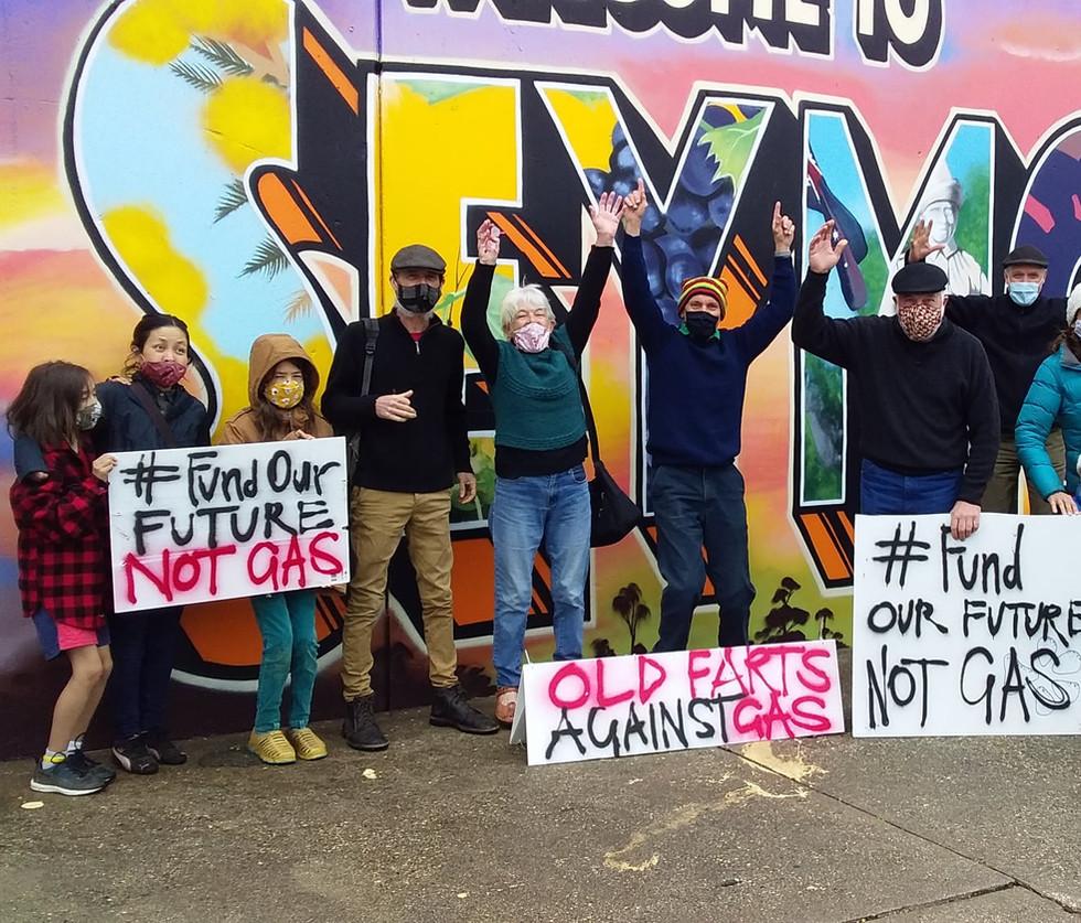 No to Gas