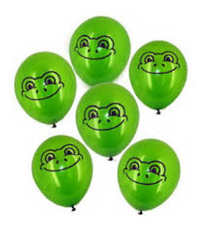 Balloon frogs at coming!