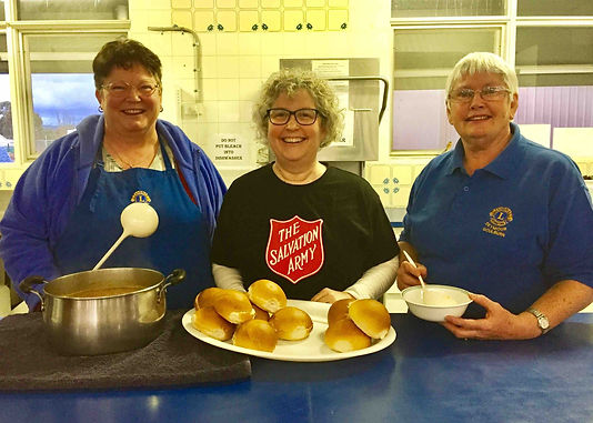 The Lions Club of Seymour Goulburn in association with the Seymour Salvation Army operate a Soup Kitchen every Wednesday evening. Come along & enjoy some home-made soup, have a chat & enjoy the company.