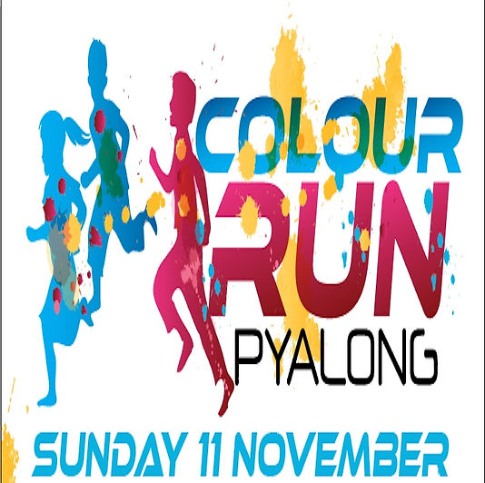 TICKETS AVAILABLE NOW!!! Book BEFORE 1 October to secure your preferred t-shirt size and receive a free gift! www.trybooking.com/397554  Colour Run Pyalong is the major fundraiser for Pyalong Primary School. Our small country school uses funds raised by this event to maintain and improve our school resources. Please come along to support the school and, most importantly, have fun!