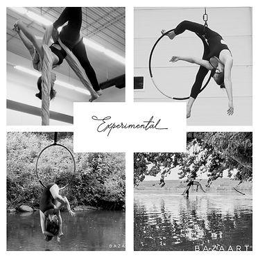 experimental aerial choreography