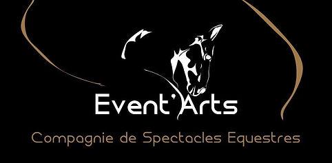 logo Event'Arts compagnie de spectacle équestre